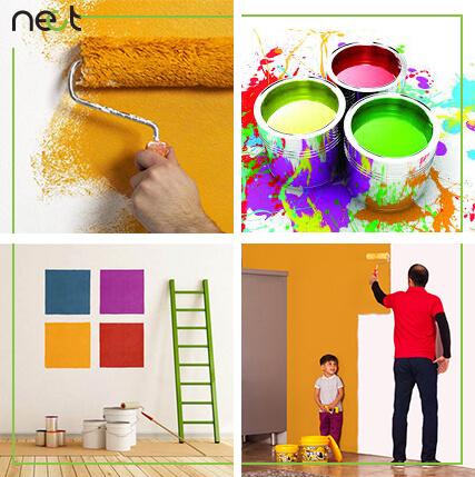 قیمت انواع نقاشی و رنگ ساختمان