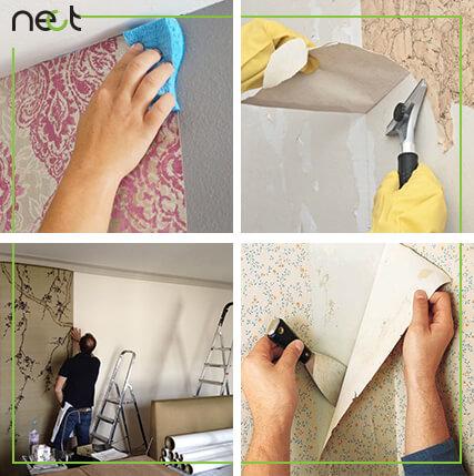 نکاتی که در زمان نصب کاغذ دیواری باید رعایت بشوند