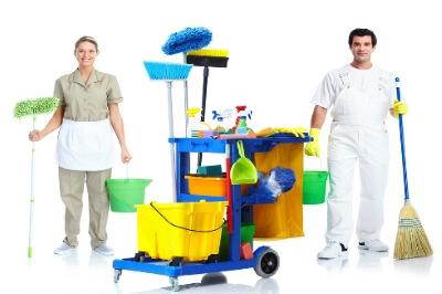 کارگر نظافت منزل آقا و خانم