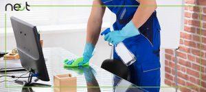 نظافت محل کار خود را هیچگاه فراموش نکنید!