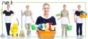 وظایف ما و شرکت خدمات نظافت منزل چیست؟