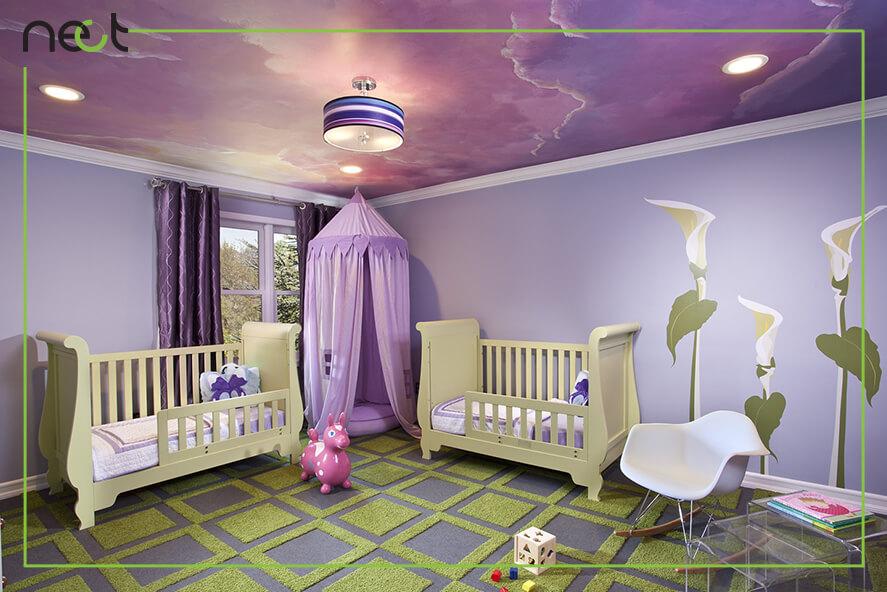 ایده برای سقف اتاق کودک