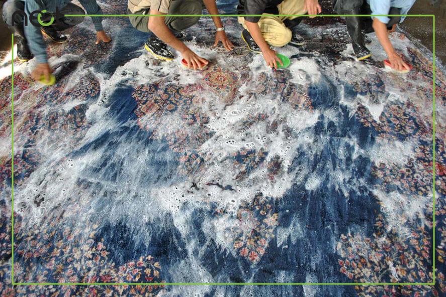 مواد شوینده فرش