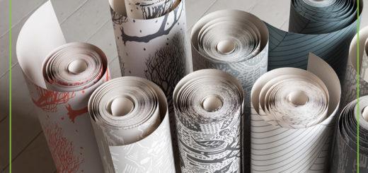 محاسبه تعداد رول کاغذ دیواری