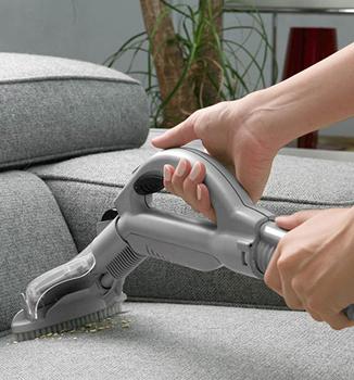 تميز كردن مبل پارچه ای با شامپو فرش