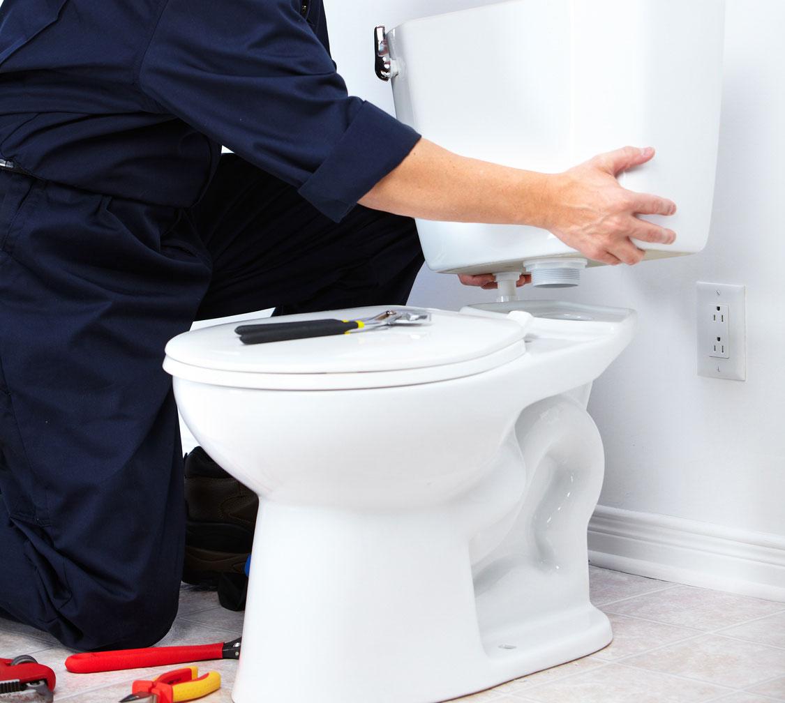 نصب سیفون توالت فرنگی