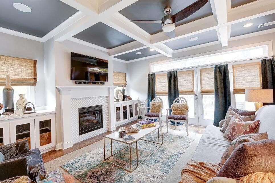 رنگ آمیزی ابزار سقف منزل