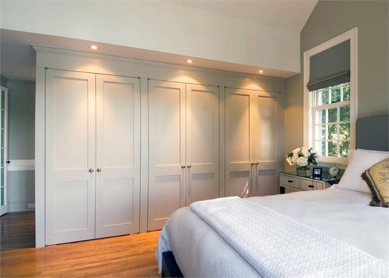 طراحی داخلی کمد دیواری اتاق خواب