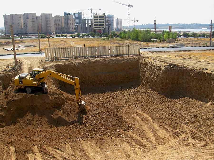 مراحل سفت کاری ساختمان
