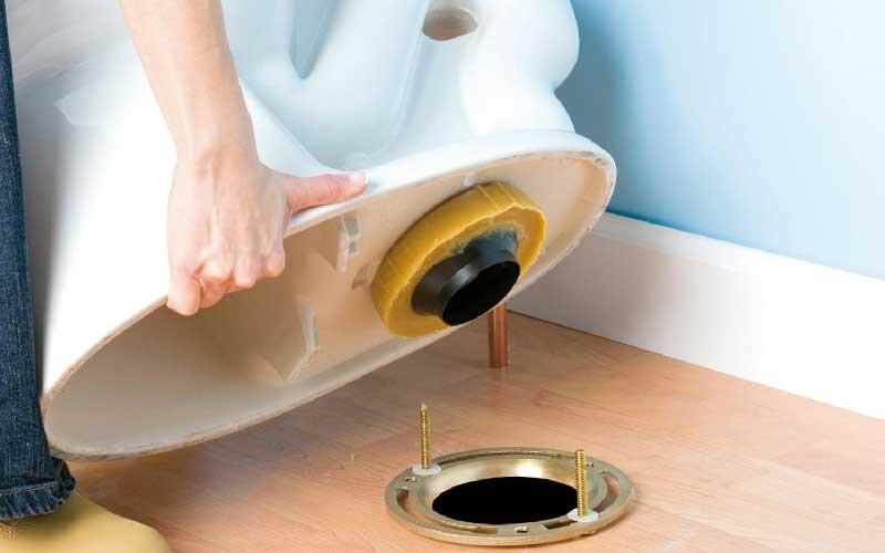 طریقه نصب بوگیر توالت فرنگی