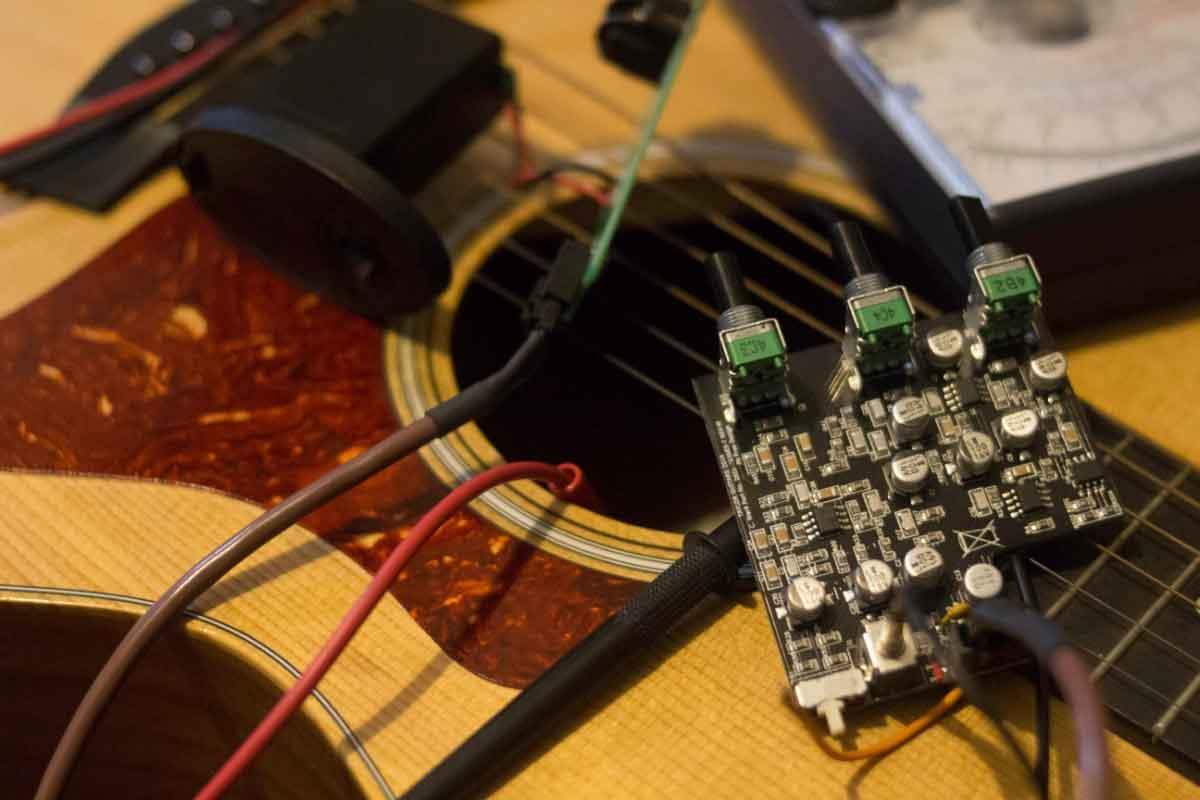 تعمیر گیتار الکتریک