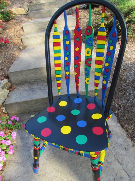 رنگ آمیزی صندلی