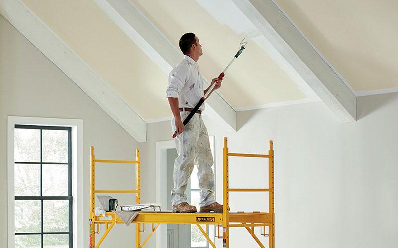 رنگ اکریلیک برای سقف