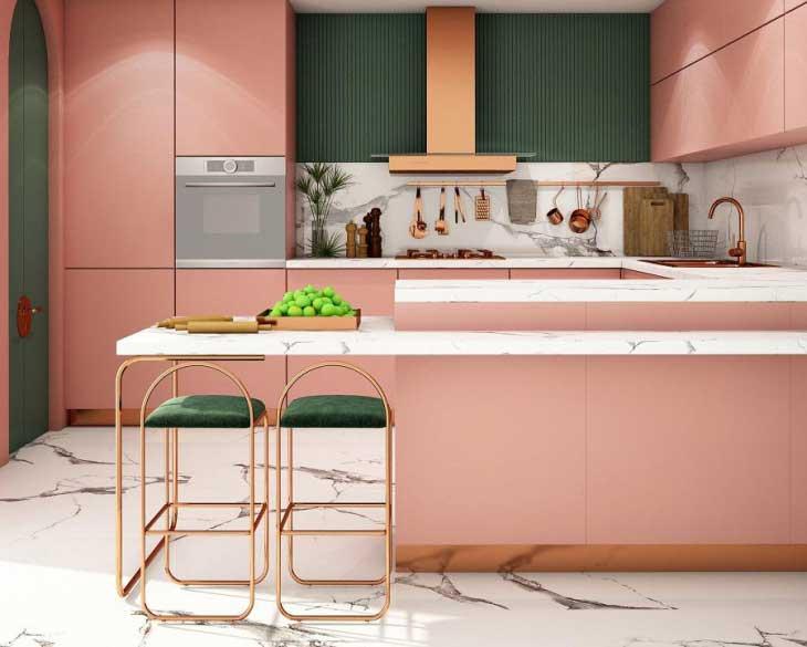 رنگ دیوار آشپزخانه