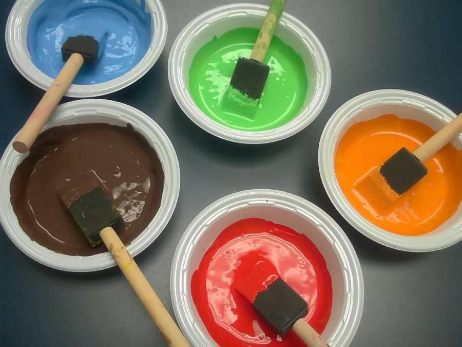 رنگ پلاستیک برای سقف