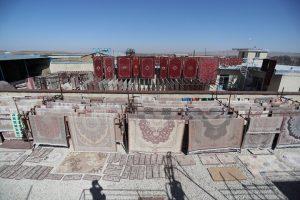 خدمات کارخانه قالیشویی