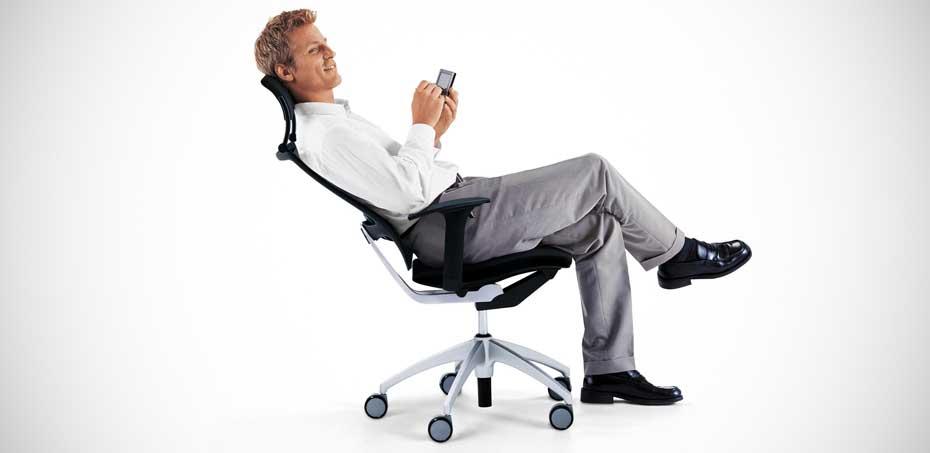 از صندلی خود به درستی استفاده کنید