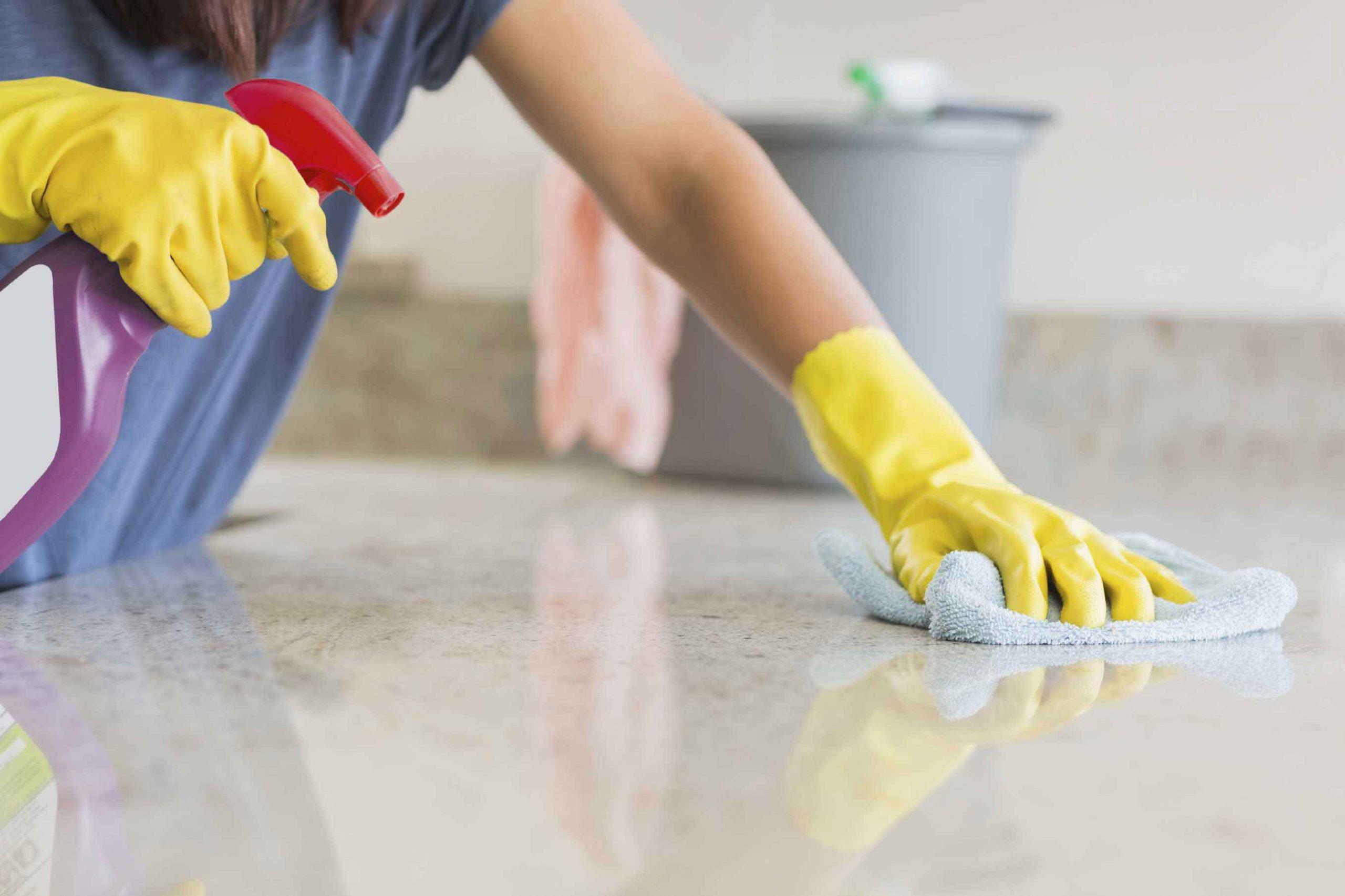 نکات مهم در مورد تمیز کردن سنگ مرمر