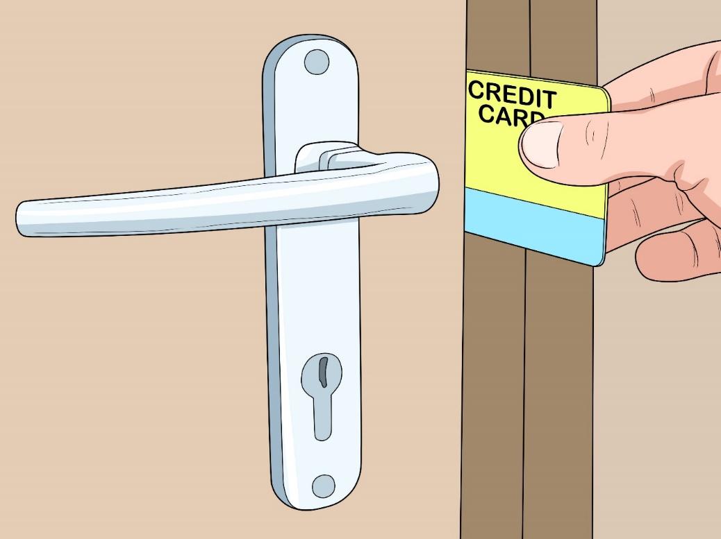 باز کردن قفل کمد با کارت بانکی