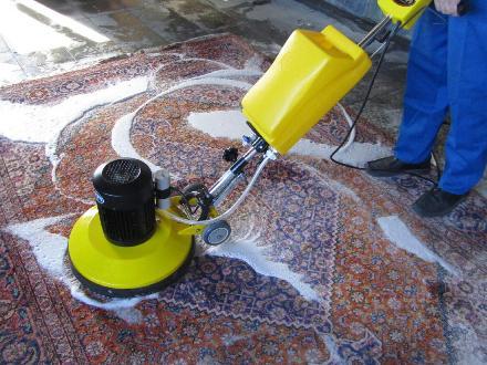 قالیشویی در محل