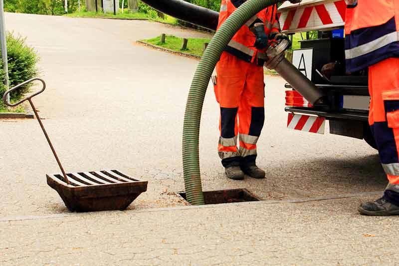 اقدامات لازم هنگام تخلیه چاه فاضلاب