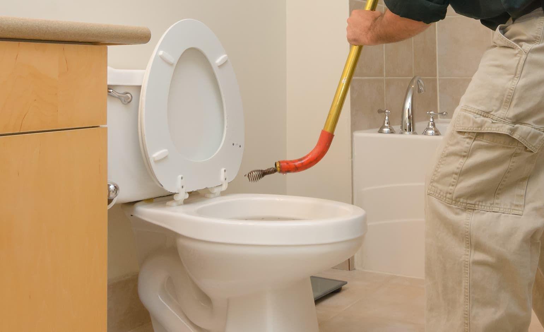 روش باز کردن چاه توالت