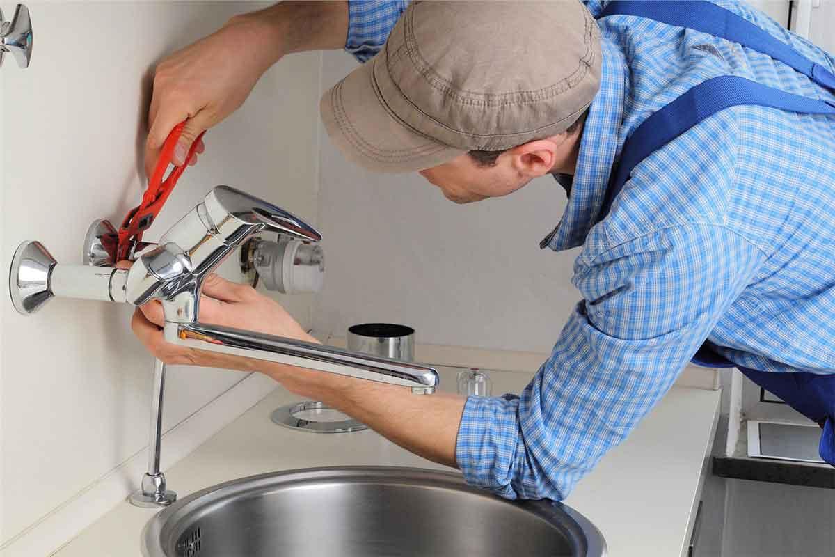 مراحل وصل شیر قهرمان برای ظرفشویی