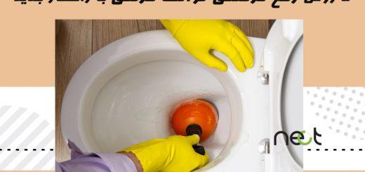 گرفتگی توالت فرنگی