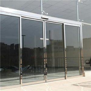 نصب درب شیشه ای سکوریت اتوماتیک