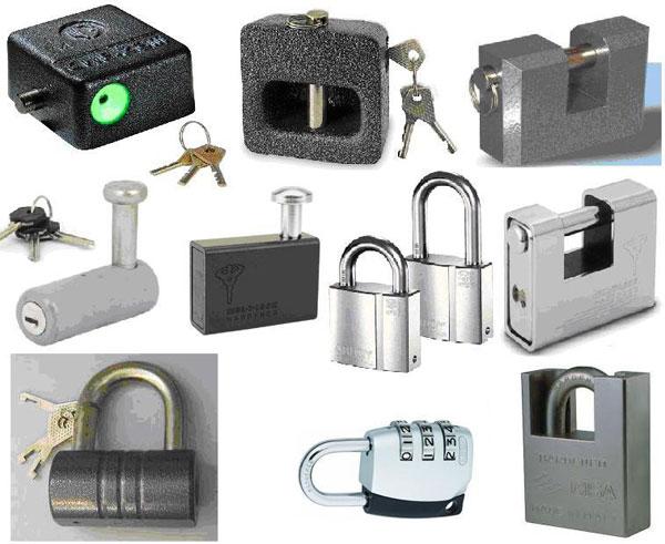 انواع قفلهای بیرونی و داخلی ساختمان