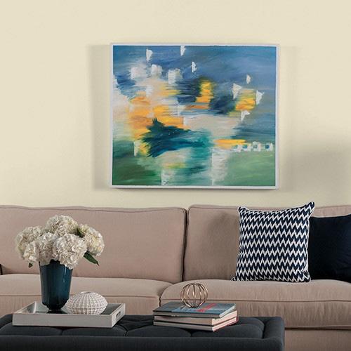 انتخاب رنگ بژ برای اتاق نشیمن
