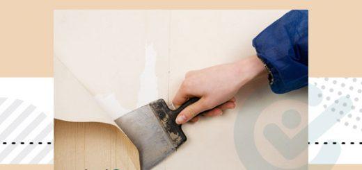 نصب کاغذ دیواری روی کاغذ دیواری قبلی