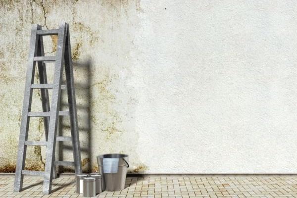خرده کاری نقاشی ساختمان