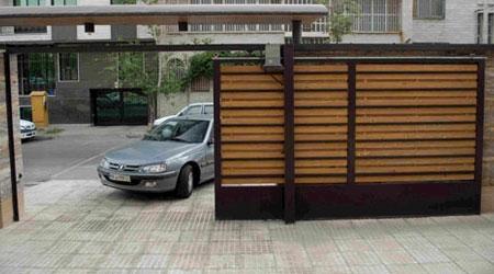 انواع درب ریلی پارکینگ