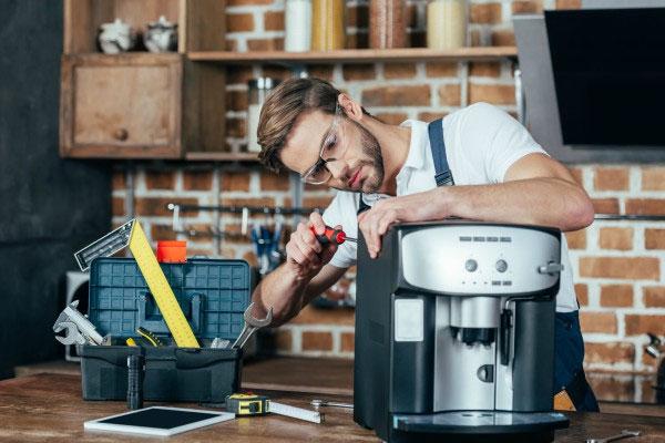 خدمات تعمیر قهوه ساز خانگی و قیمت تعمیرات
