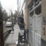 میثم حسین زاده نقاش ساختمان در استاده