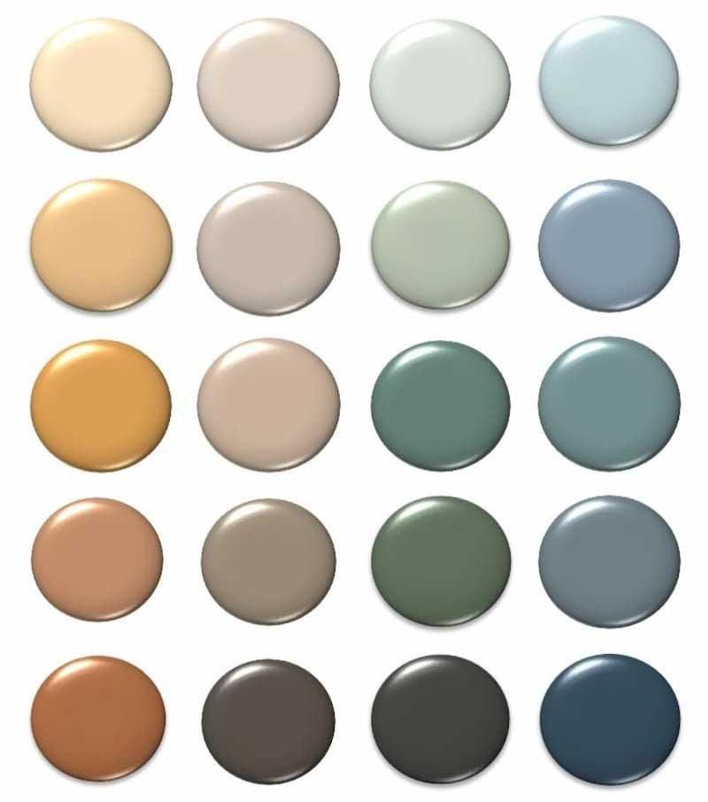 رنگهای ترند 2021