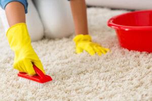 تمیز کردن فرش با سرکه