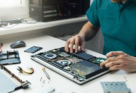 خدمات تعمیر لپ تاپ در استاده