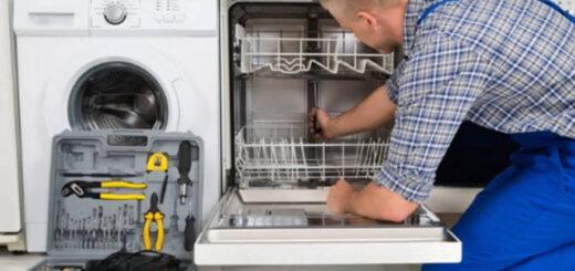 جمع شدن آب کف ماشین ظرفشویی