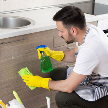 تمیز کردن کابینت ممران