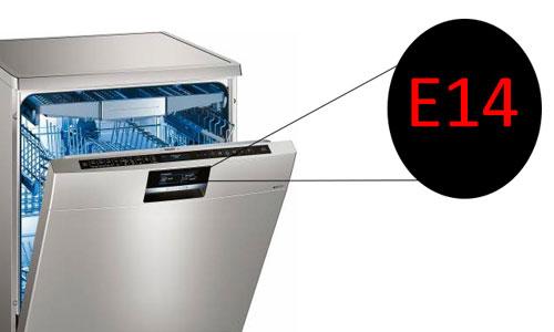 خطا E14 یا F14 ظرفشویی بوش