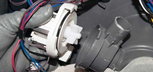 صدای پمپ تخلیه ماشین لباسشویی