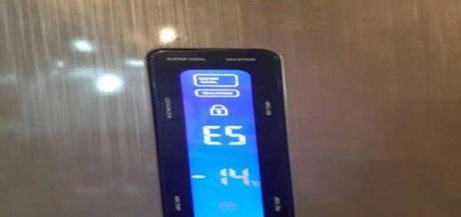 اررور E5 یخچال الکترواستیل