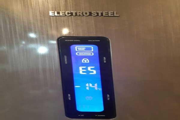 علت اررور E5 یخچال الکترواستیل و رفع خطا