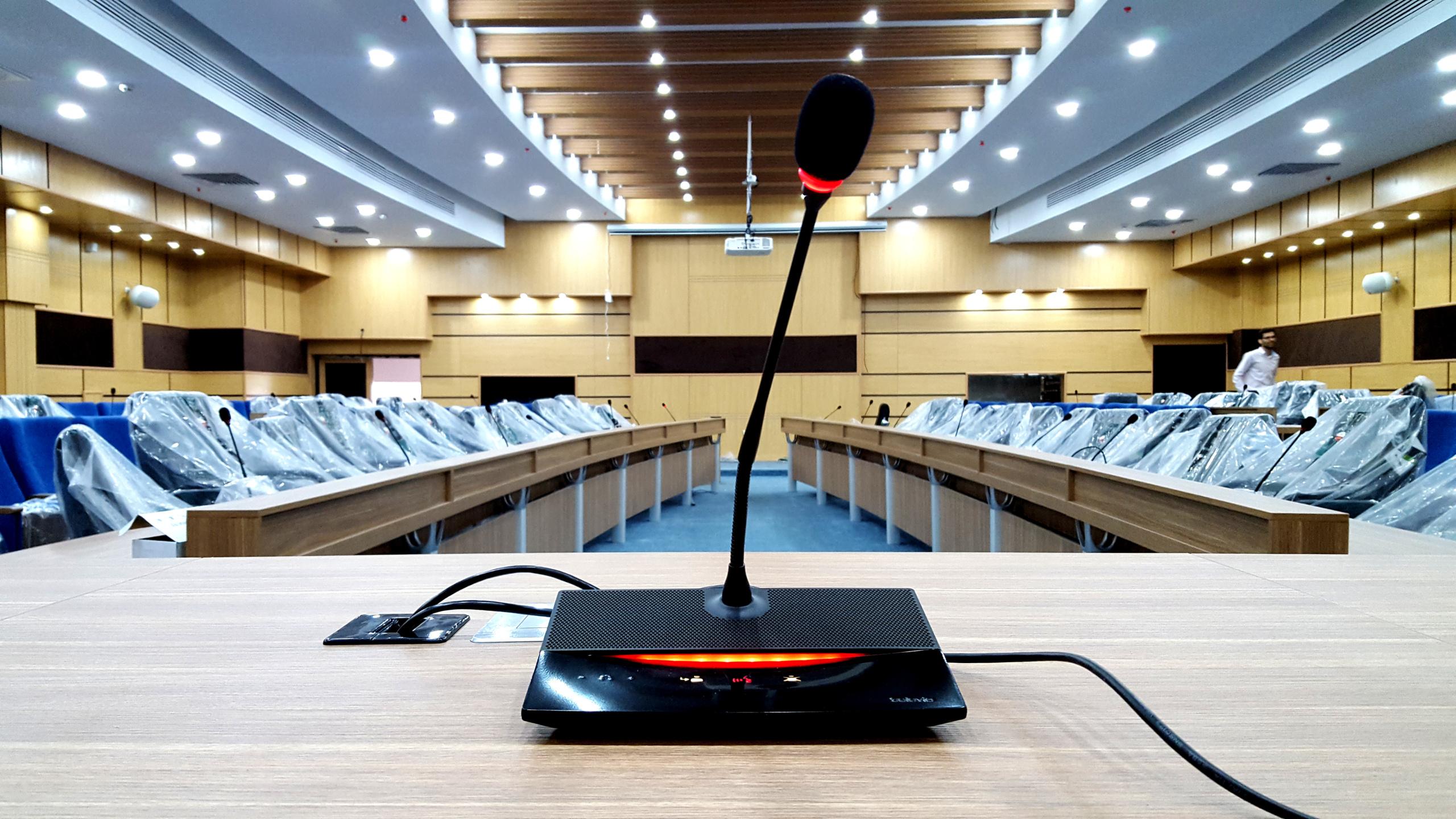 میکروفن سالن کنفرانس