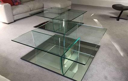 طرح شیشه رومیزی و آینه
