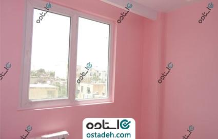 نمونه کار رنگ آمیزی دیوار اتاق کودک