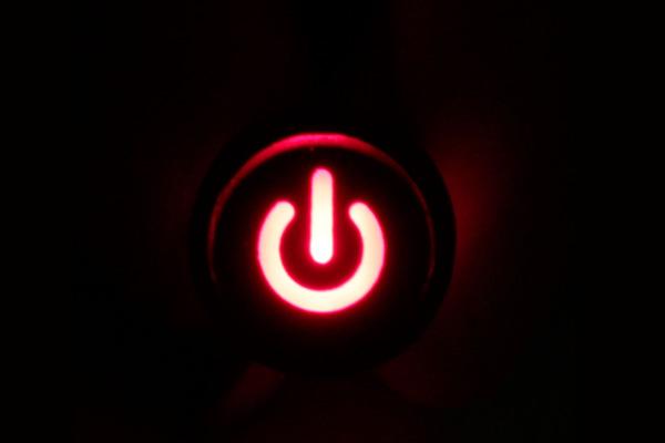 samsung tv power blink
